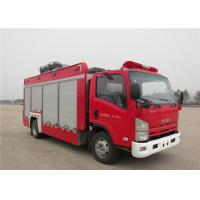 Quality 6 Forward Gear Light Up Fire Truck , Pneumatic Lifting Poker Heavy Rescue Fire Truck for sale