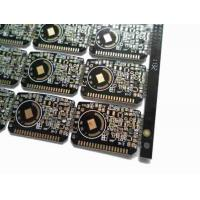 Buy cheap Double Sided FR4 PCB with Black Solder Mask from wholesalers