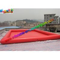 Customized Cube Inflatable Water Pool Summer Sport Game With Air