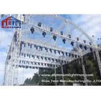 Quality Arch Shape Aluminum Stage Truss , Outdoor Truss Structure Truss Display Systems for sale
