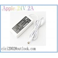Quality Apple 24V 2A 48W Power Adapter, White AC Adapters with 7.7*2.5mm power cable for sale