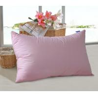Quality Colorful Microfiber Pillow Insert Double Stitch Fluffy Hollow fiber filling  for Home and Hotel for sale