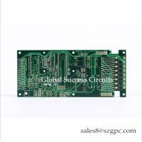 China Rigid PCB board layout HASL 1 OZ 6 layer printed circuit Board Square Board For Temperature Controller on sale