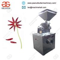 Quality Stainless Steel CommercialDry Red Chilli Powder Grinding Machine Manufacturer for sale