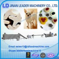 Quality Full Automatic Dog Jam Center Pet Food Processing Line/machine for sale