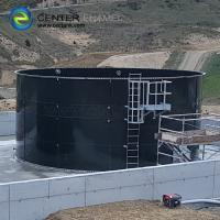 Quality Vitrum Bolted Steel Liquid Storage Tanks With Aluminum Dome Roof for sale