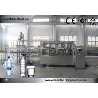Automatic Mineral Water Bottle Filling Machine / Equipment For Soda Water