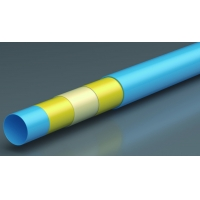 Quality 9201 Five Layers S5 PE-RT Underfloor Heating Water Pipes sizes 16 x 2.0mm, 20 x 2.0mm with EVOH Oxygen Barrier Layer for sale