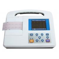 China single channel ECG machine,EKG machine with LCD screnn built-in battery SG2301 on sale