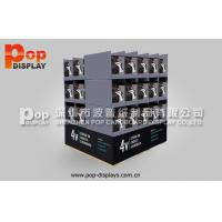 Quality Practical Economic Corrugated Cardboard Pallet Display Case With Longlasting Printing for sale