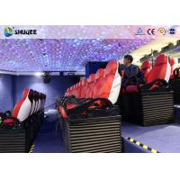 Quality Immersive 9D Cinema System With Spray Air And Water Function Indoor Theme Decoration for sale
