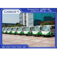 Quality 11 Persons Village Electric Shuttle Car 72V / 5KW AC Motor Range For 100km for sale