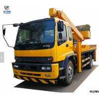 China HOT SALE! ISUZU brand FTR 18m-20m hydraulic high altitude operation truck, Good price aerial working platform truck on sale