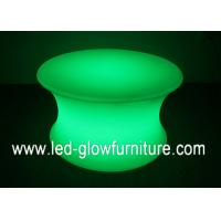 Quality Multi - color changeable Plastic LED Illuminated Table , Waterproof led party furniture for sale