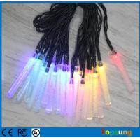 China christmas light battery operated 10leds Icicle string lights on sale