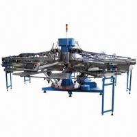 Quality Automatic Textile Screen Printing Machine, T-shirts Printer, Available in 5 Colors for sale