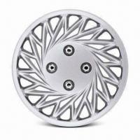 Quality Silver, Lacquer or Chrome-plated Wheel Cover, Measures 13 and 14 Inches, Made of PP or ABS for sale