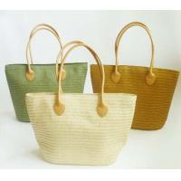 Quality Fashion Candy Straw Beach Bag,Summer Weave Woven Women Beach Tote Bags for sale