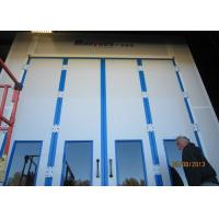 Quality Diesel Burner Heating Professional Spray Booth , Truck Paint Booth 20.7M Long for sale