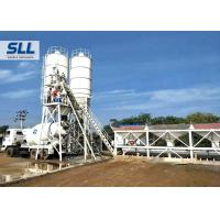 Quality HZS50 Ready Mix Batching Plant , Ready Mix Concrete Plant Without Cement Silo for sale