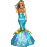 Quality Wholesale Sailor Sea Costume Aquarius Mermaid Dress for Halloween Christmas Party Carnival for sale