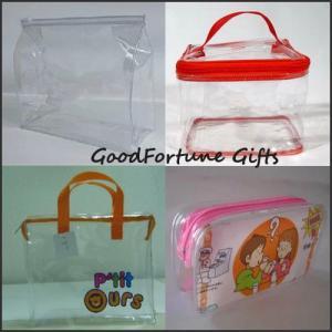 hot sale Eco-friendly pvc cosmetic gift shopping wine tote bag handbag shopping bag