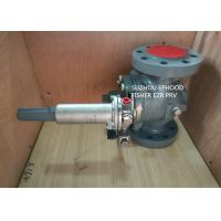 Quality High Flow Rate Fisher Gas Regulator / Pressure Reducing Regulator With 161EB Pilot for sale