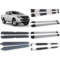 Quality Optional Alloy and Steel Side Step Boards for 2015 Mitsubishi Triton L200 Pick Up for sale
