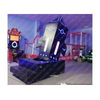 Quality Standing Roller Coaster 9D Virtual Reality Simulation With One Year Warranty for sale