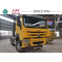 Quality SINOTRUK HOWO Tractor Truck , Howo 6x4 Tractor For Container Transport for sale