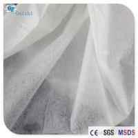 Quality Imitation Silk Spunlace Nonwoven Fabric Transparent Mask Raw Material OEM for sale