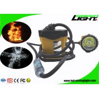 China Explosion Prevention Mining Cap Lights , Cable Flashing Light GLC12-A For Underground on sale
