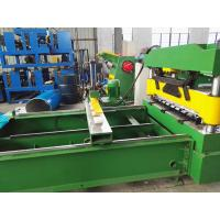 Buy cheap Sheet Crimped Metal Roofing Roll Forming Machine With PLC Control System , 0.7mm Thick from wholesalers
