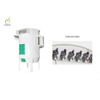 Quality 1.5kw 2112m3/H Pneumatic Dust Collector Cyclone Separator Dust Scraper for sale
