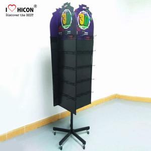 China Custom Logo Retail Store Merchandising Display Solution Metal Display Racks Meet Your Needs on sale