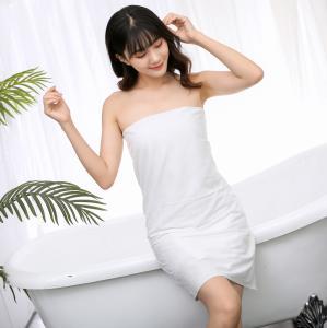 Quality Nonwoven Cotton 75GSM 70x140cm Disposable Bath Towel for sale