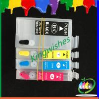 Quality New!!! T2711-T2714 refillable ink cartridge for Epson WF-7610DWF with reset chip for sale