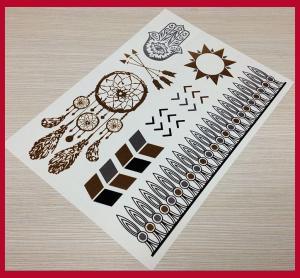 Quality Fake metallic temporary jewel tattoos for sale