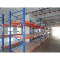 Quality high density wood / plywood shelves medium duty shelving storage racking system for sale