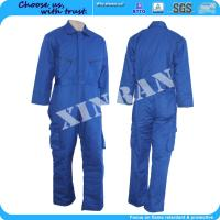 Buy cheap ISO14419 proban finished fireproof coveralls water resistant workwear from wholesalers
