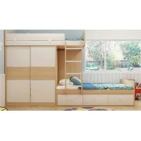 Custom Home Furniture Children Wooden Double Bed Designs Bunk Beds