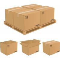 Quality strong Shipping cardboard corrugated paper Moving Boxes for Packing for sale