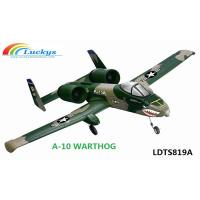 Quality TS819 A10 Warthog 2.4Ghz 4ch rc plane (brushless & brush airplane),radio controlled plane for sale