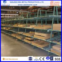 Quality Q235 Steel Cost-Effective Slotted Angle Shelving / Light Duty Shelf for sale