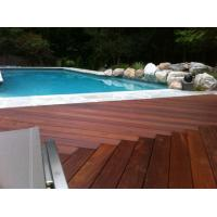 Quality Swimming pool brazilian teak wood decking for sale