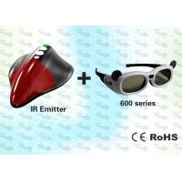Quality External 3D Shutter Glasses and SYNC Emitter for PC for sale