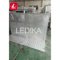 Buy cheap Aluminum Oval Tube / Folding Barrier / Crowd Control Stage Barrier from wholesalers