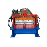 Quality Self Locked Strip Standing Seam Machine , Roof Panel Roll Forming Machine 20 Rows Roller for sale