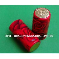 Buy cheap PVC SHRINKABLE WINE CAPSULE WITH PATTERN from Wholesalers