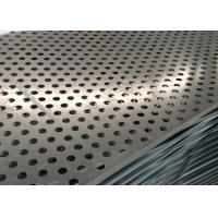 Quality SGS Perforated Metal Screen Panels , 201 Ss Perforated Sheet for sale